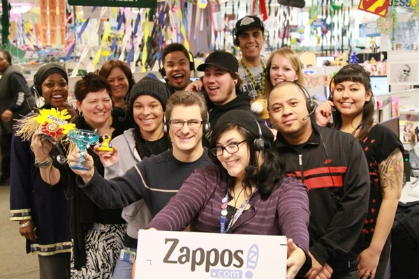 quality of service at the zappos company Truly remarkable customer service goes beyond fixing bug or handing out  my  sister emailed the company to thank zappos for taking such good care of my.