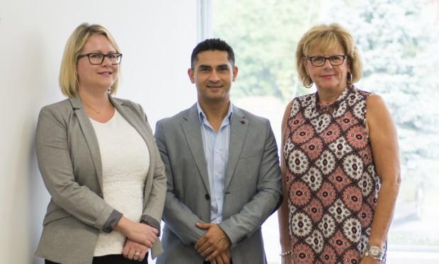 Angela Kommissar, Gaurav Sharma and Marion Kendall