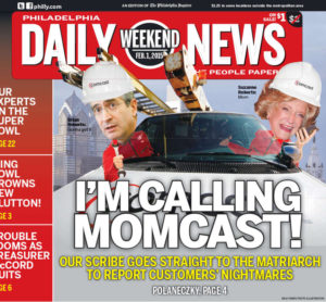 Philadelphia Daily News, Bombast from Comcast,