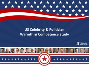 US Celebrity & Politician Warmth & Competence Study