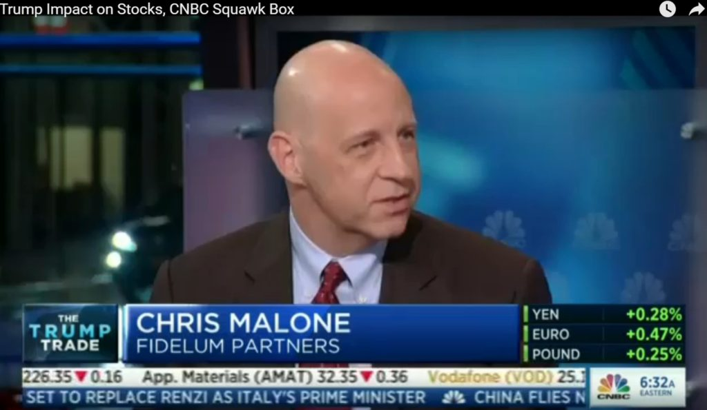 Chris Malone on CNBC's Squawk Box