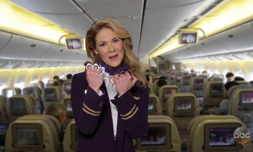 Jimmy Kimmel Live spoofs airline incompetence