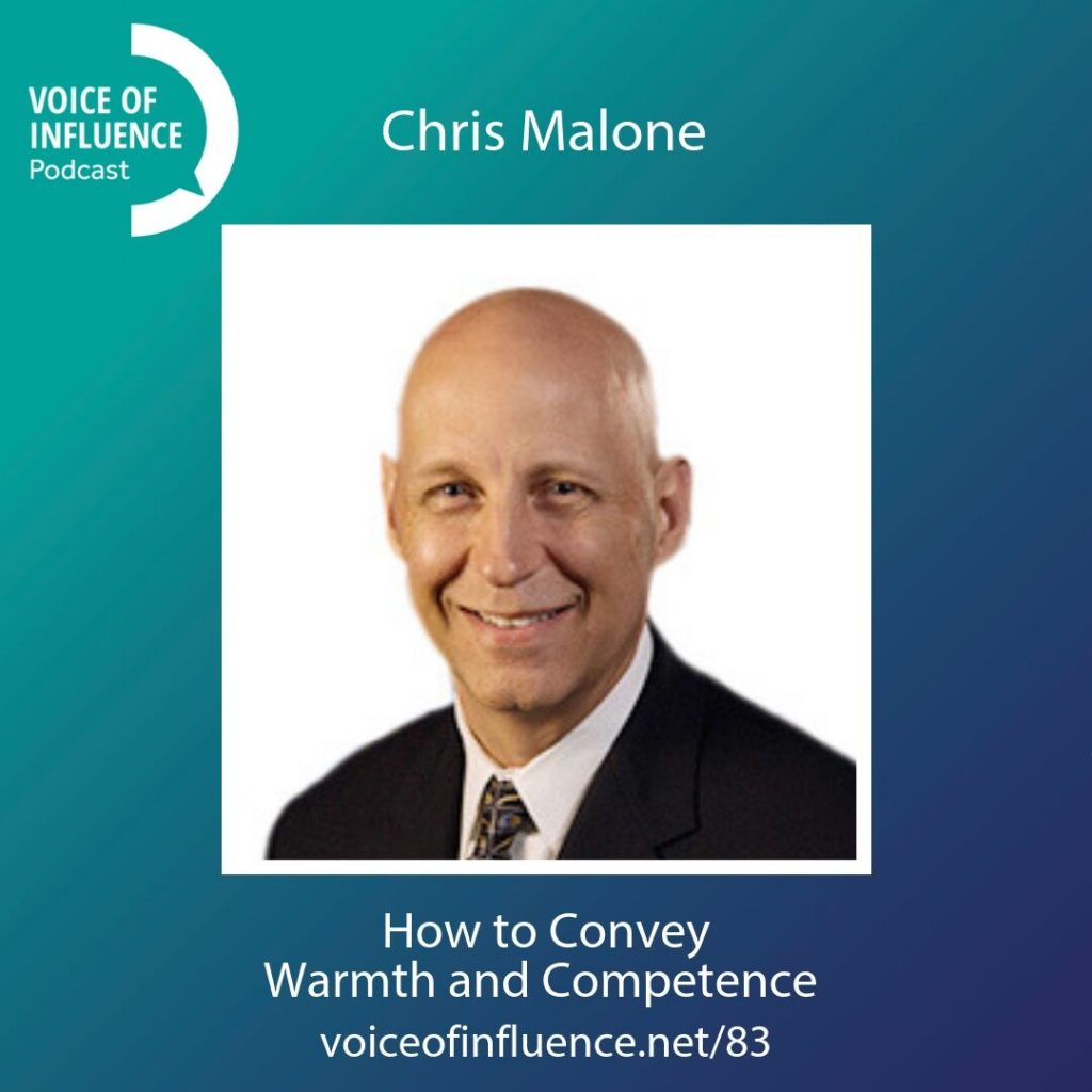 How to Convey Warmth and Competence with Chris Malone
